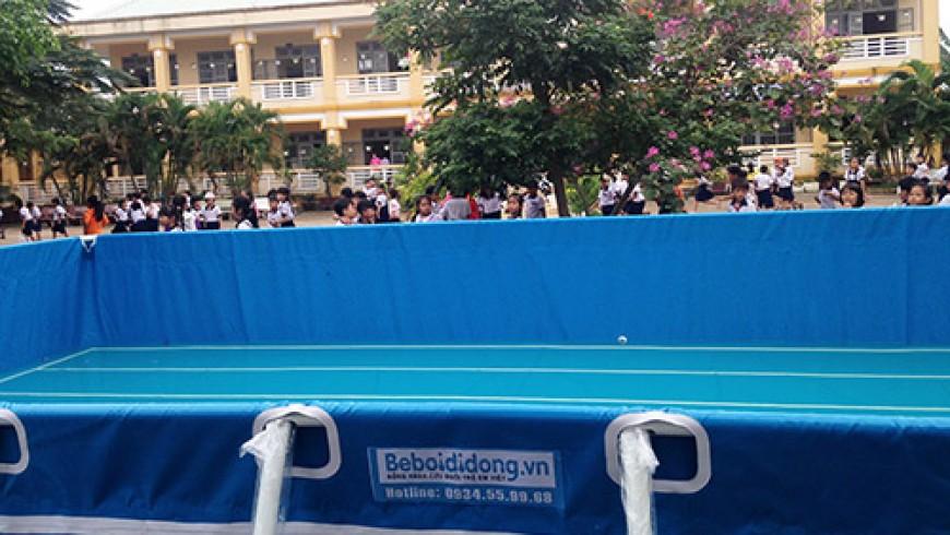 Bộ GD đặt mục tiêu 100% trường học sẽ có bể bơi vào năm 2020