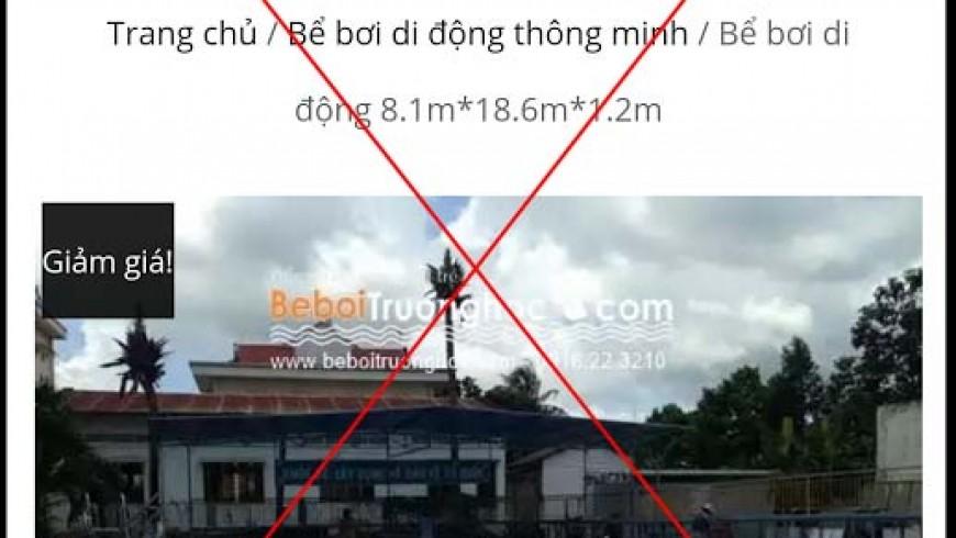 Cảnh báo Beboitruonghoc.com ăn cắp bản quyền nội dung và slogan