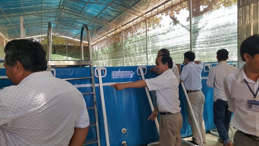 Bình Thuận: Đưa môn bơi vào dạy chính thức