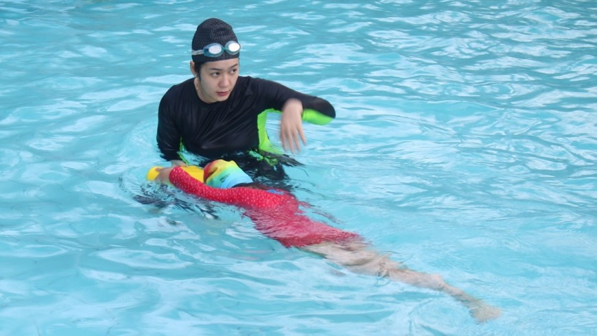 Khánh Hòa quyết đưa môn bơi vào học đường