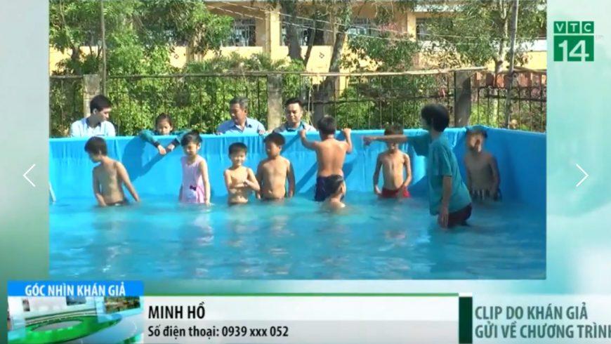 Hoàng Hải tài trợ hồ bơi di động miễn phí thứ 2 tới Đồng Tháp