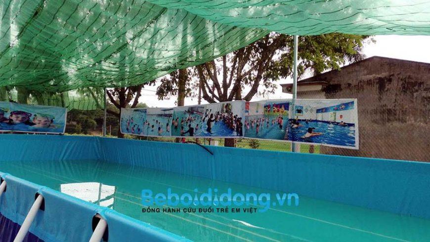 Bàn giao và chuyển giao công nghệ hồ bơi di động tại Phú Thọ