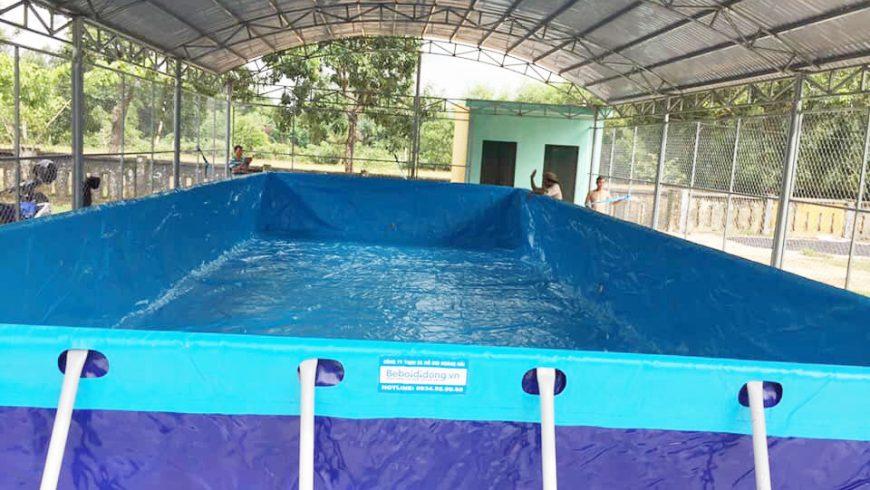 Hoàng Hải tặng hồ bơi miễn phí thứ 5 tới miền trung Quảng Nam