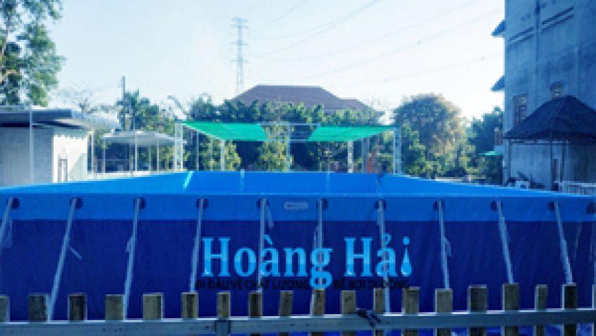 Hồ bơi di động Hoàng Hải tại Vũng Tàu